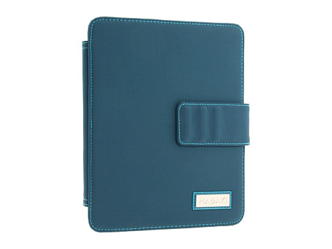Hadaki - Watercolor Solids - Wrap 2 for iPad (Dark Teal) Wallet