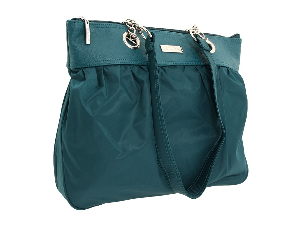 Hadaki - Sponge Nylon Solids - Brickabrack Tote Pod (Dark Teal) Tote Handbags