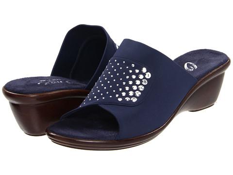 Onex - Amaze (Navy Elastic) Women's Slide Shoes