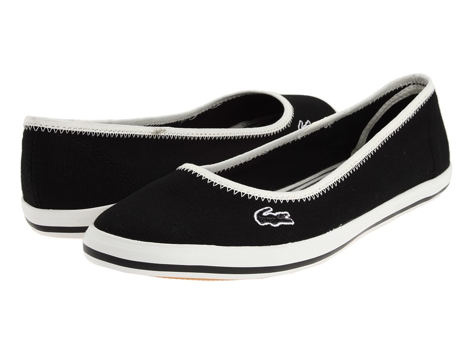 Lacoste - Marthe 4 (Black) Women's Flat Shoes