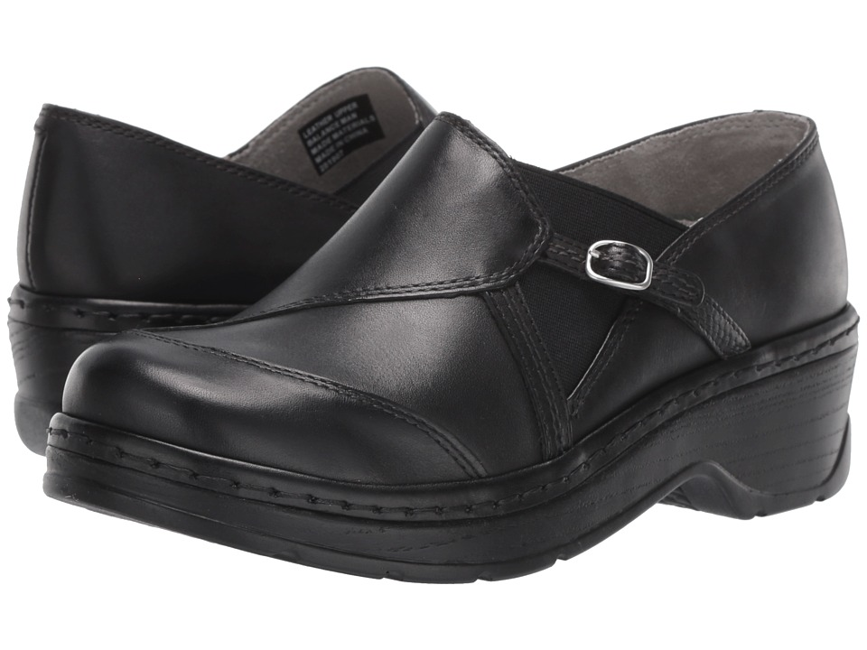 Klogs Footwear - Camd (Black Smooth) Women's Clog Shoes