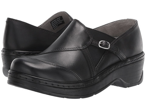 Klogs - Camd (Black Smooth) Women's Clog Shoes