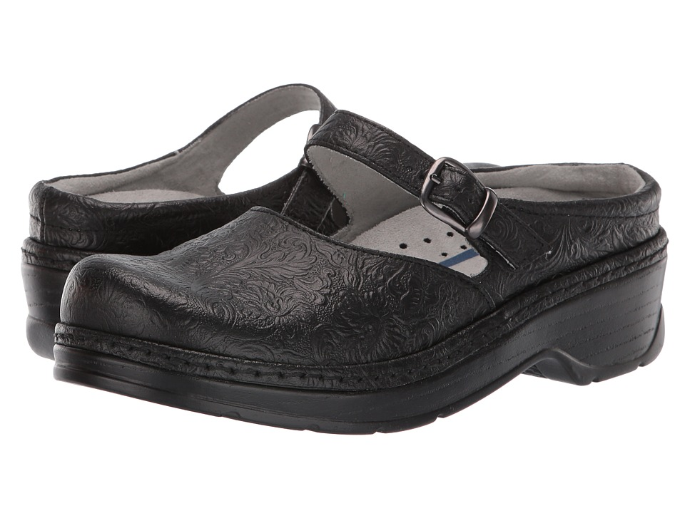 Klogs Footwear - Cali (Black Tooled) Women's Clog Shoes