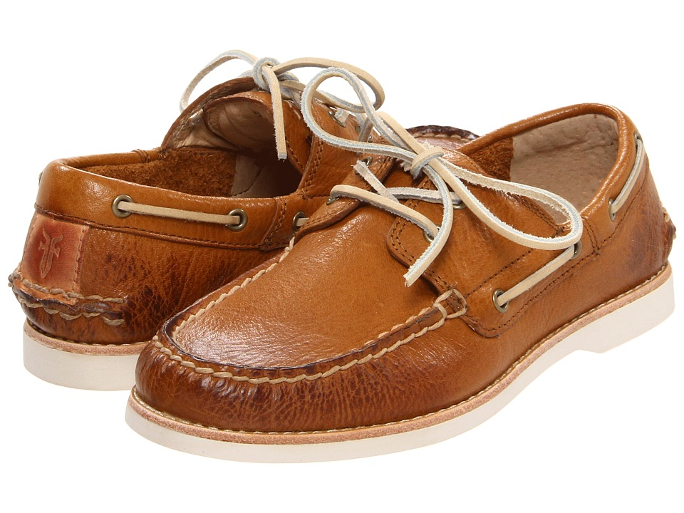 Frye Kids - Sully Boat (Little Kid/Big Kid) (Camel) Kids Shoes