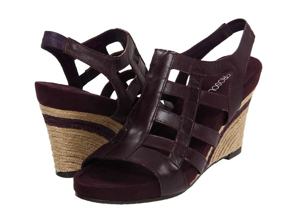 Aerosoles - Plush or Minus (Purple Leather) Women