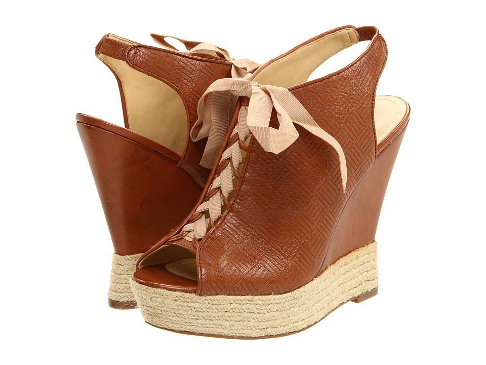 Luxury Rebel - Carlos (Tan) Women's Wedge Shoes