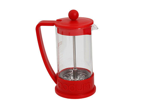 Bodum - Brazil French Press Coffeemaker, 3 cup, 0.35 l, 12 oz (Red) Appliances Cookware