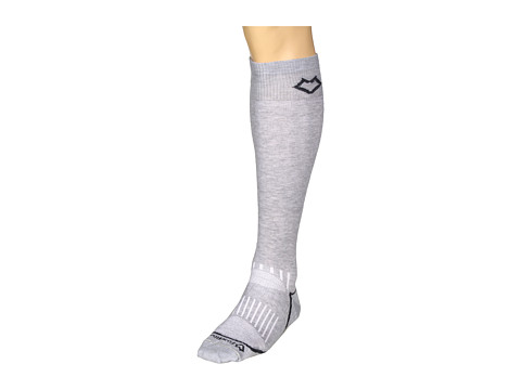 Fox River - Vail Ultra Lightweight Ski Sock (Grey) Knee High Socks Shoes