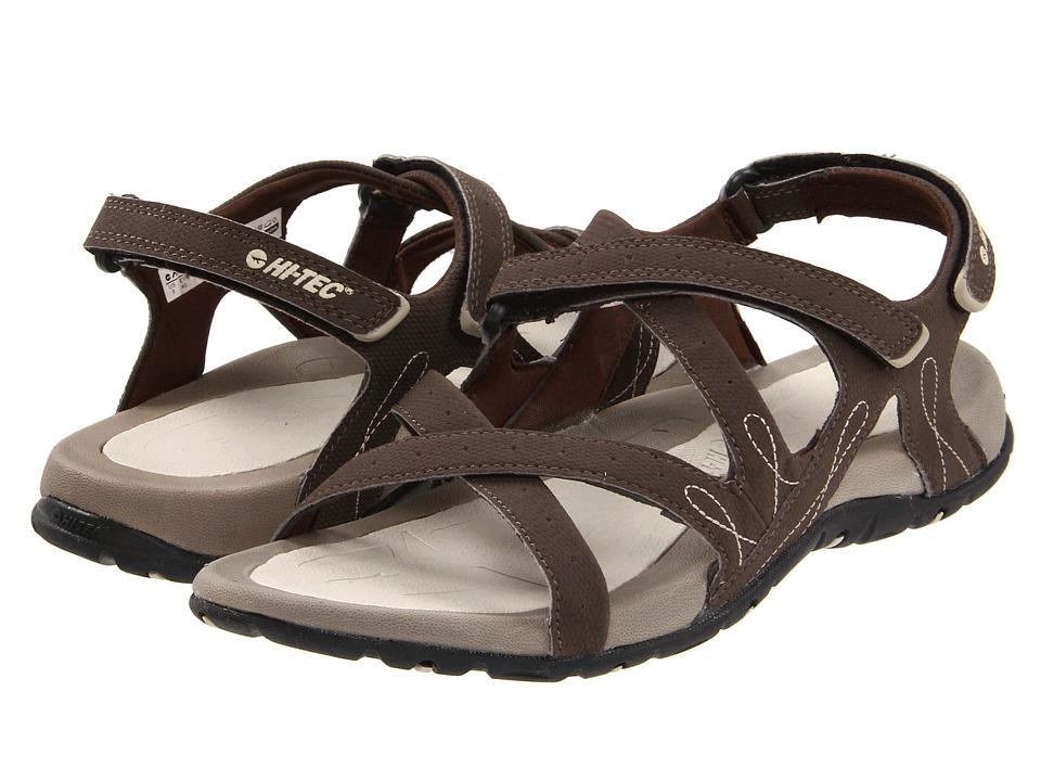 Hi-Tec - Waimea Falls (Chocolate/Sand) Women's Sandals