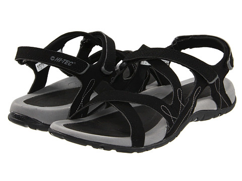 Hi-Tec - Waimea Falls (Black/Grey) Women's Sandals
