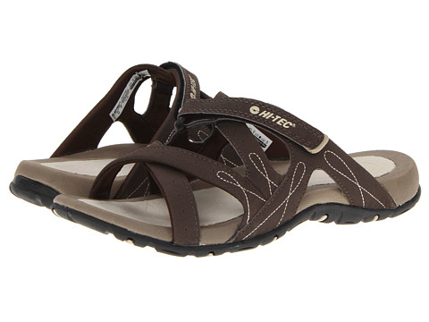 Hi-Tec - Waimea Slide (Chocolate/Sand) Women's Sandals