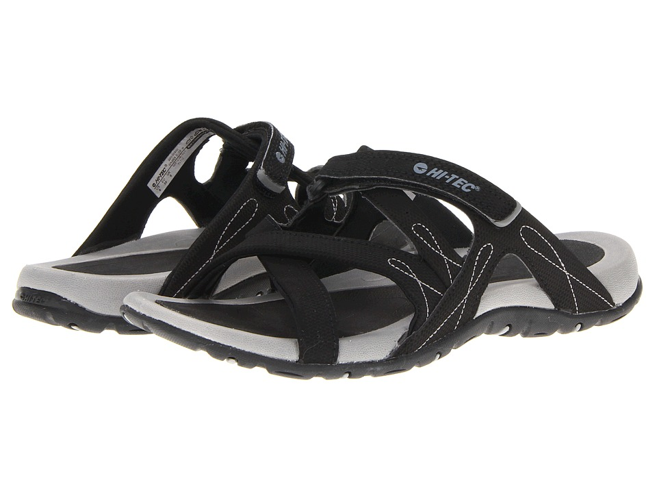 Hi-Tec Waimea Slide (Black/Grey) Women