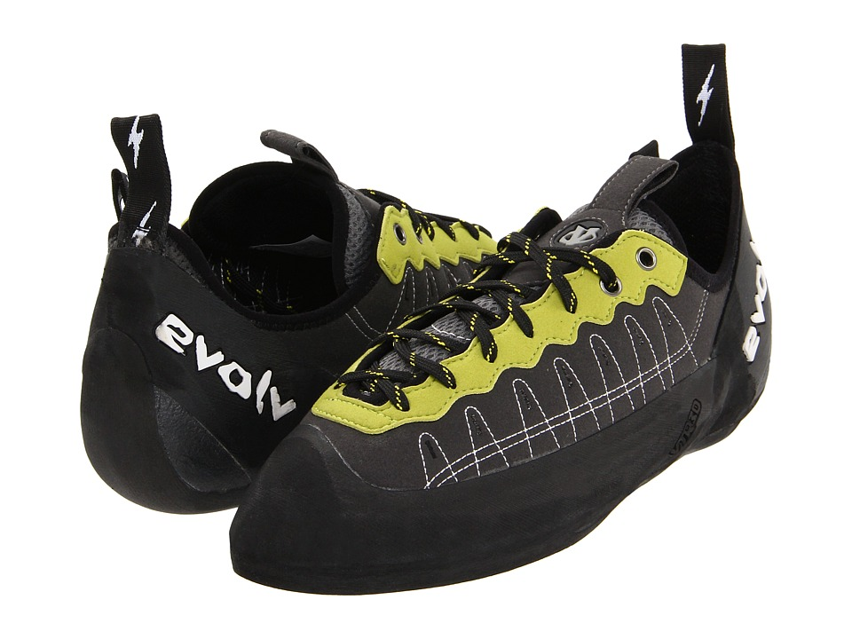 EVOLV - Defy Lace (Charcoal/Lime) Men's Shoes
