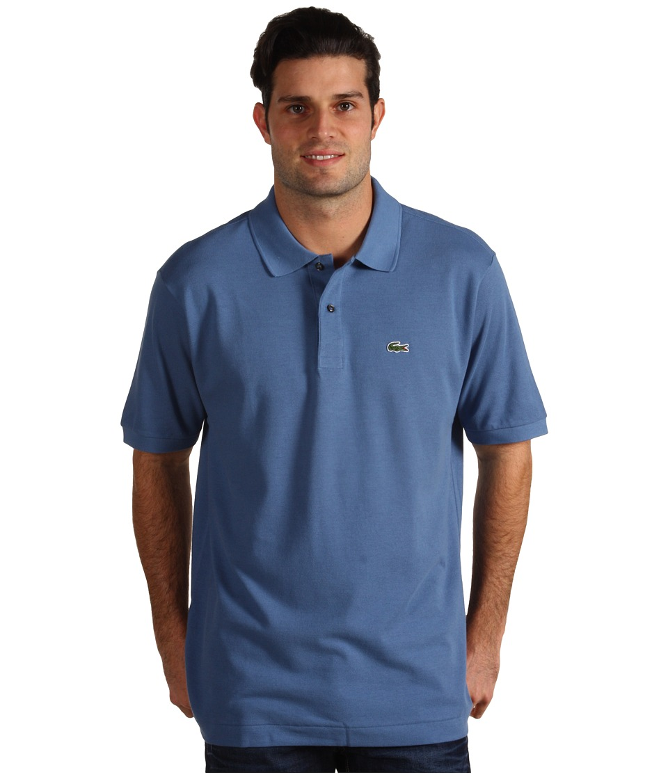 Lacoste - L1212 Classic Pique Polo Shirt (Admiral Blue) Men's Short Sleeve Knit