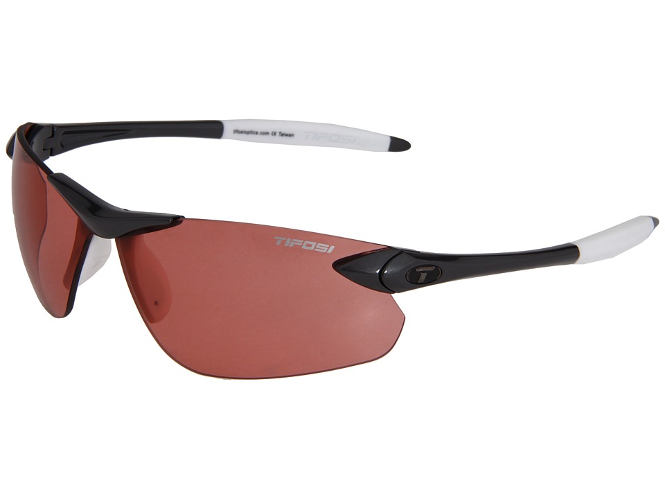 Tifosi Optics - Seek Fototec FC - High Speed Red (Gunmetal/ High Speed Red Fototec Lens) Athletic Performance Sport Sunglasses