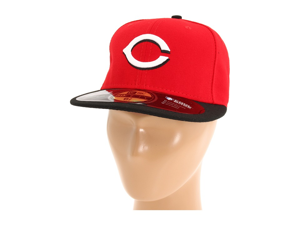 New Era - Authentic Collection 59FIFTY - Cincinnati Reds (Road) Baseball Caps