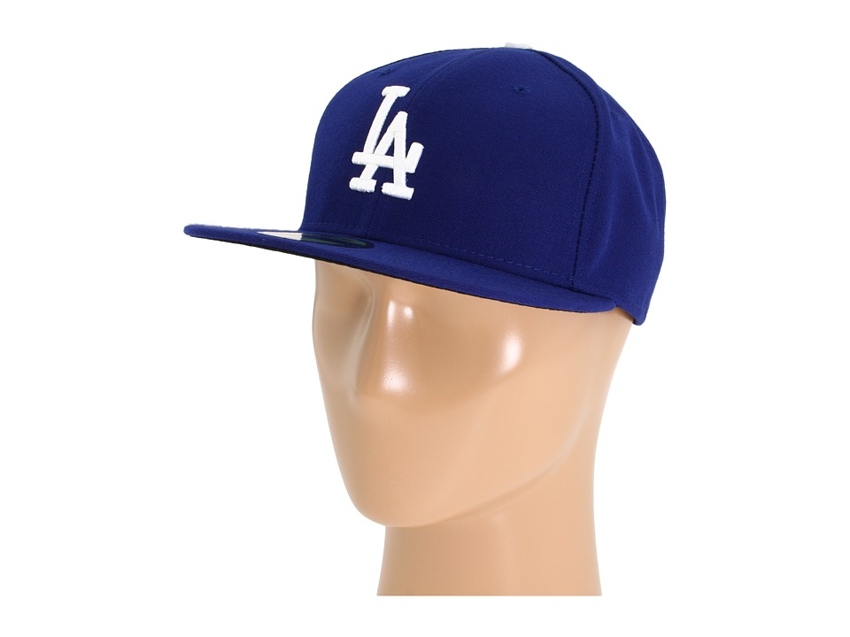 New Era - Authentic Collection 59FIFTY - Los Angeles Dodgers (Home/Road) Baseball Caps