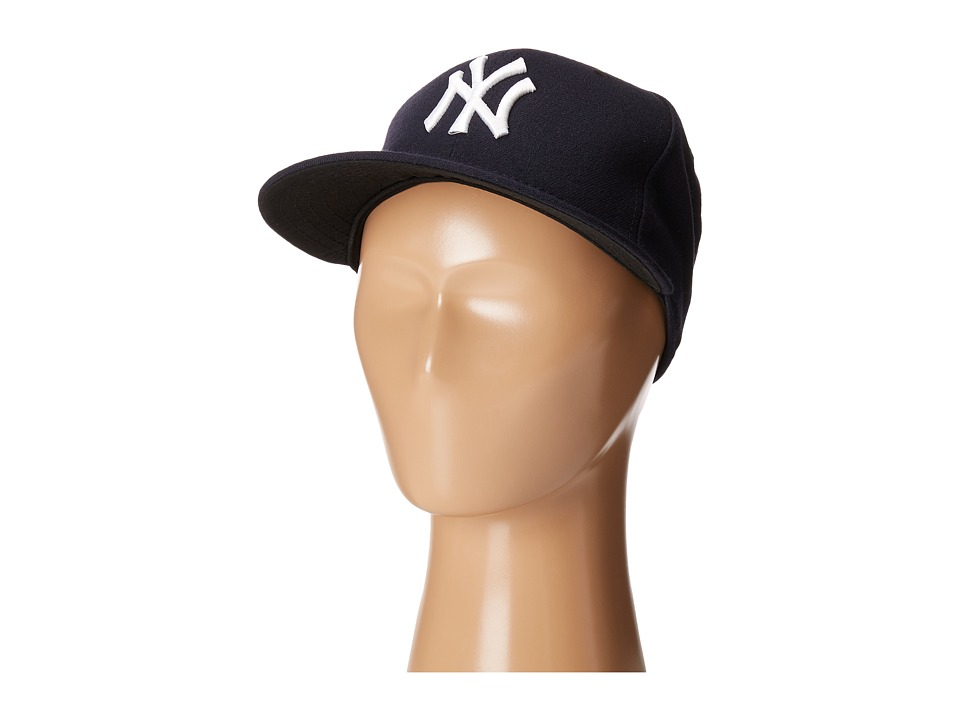 New Era - Authentic Collection 59FIFTY - New York Yankees (Home/Road Navy) Baseball Caps