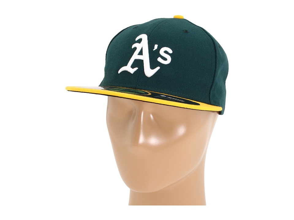 New Era - Authentic Collection 59FIFTY - Oakland Athletics (Home) Baseball Caps