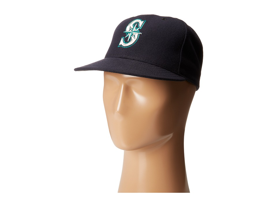 New Era - Authentic Collection 59Fifty - Seattle Mariners (Home/Road) Baseball Caps