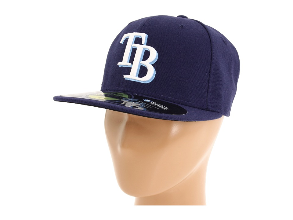 New Era - Authentic Collection 59FIFTY - Tampa Bay Rays (Home/Road) Baseball Caps