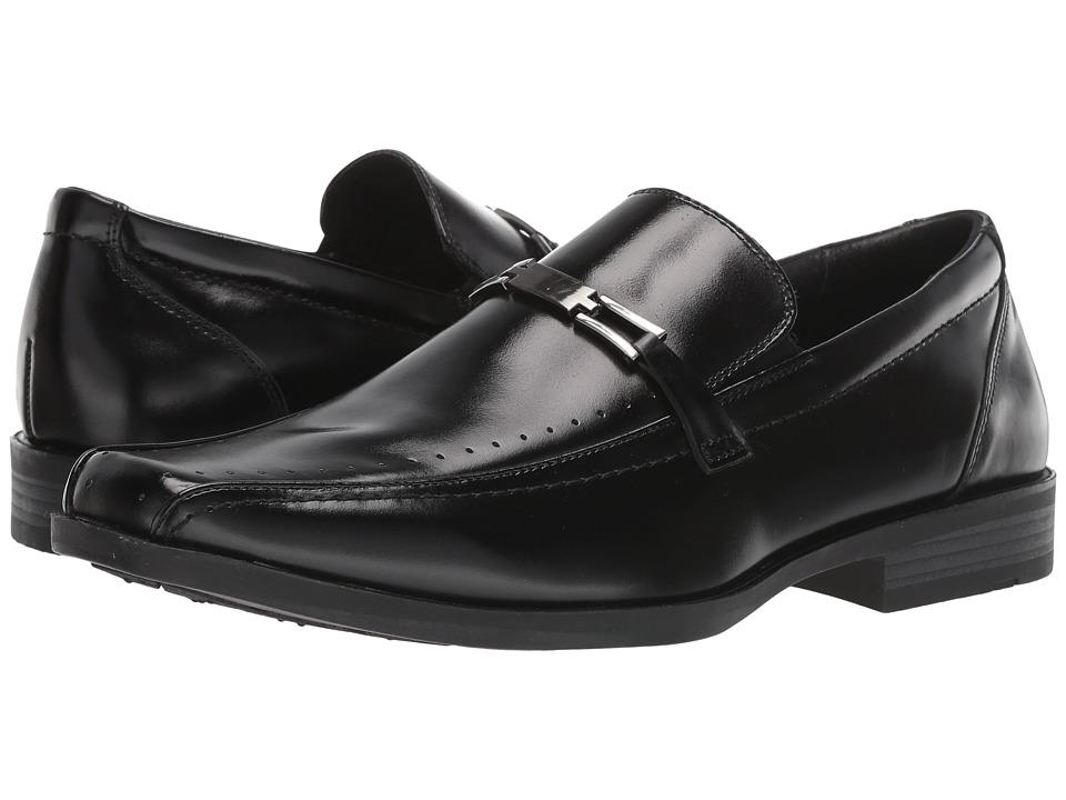 Stacy Adams - Cade (Black) Men's Slip-on Dress Shoes
