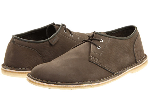 Clarks - Jink (Olive Nubuck) Men's Lace up casual Shoes