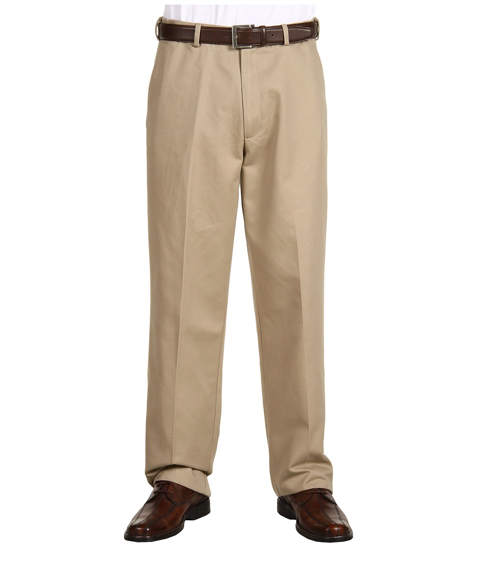 Dockers Men's - Comfort Waist Khaki D3 Classic Fit Flat Front (New British Khaki) Men's Casual Pants