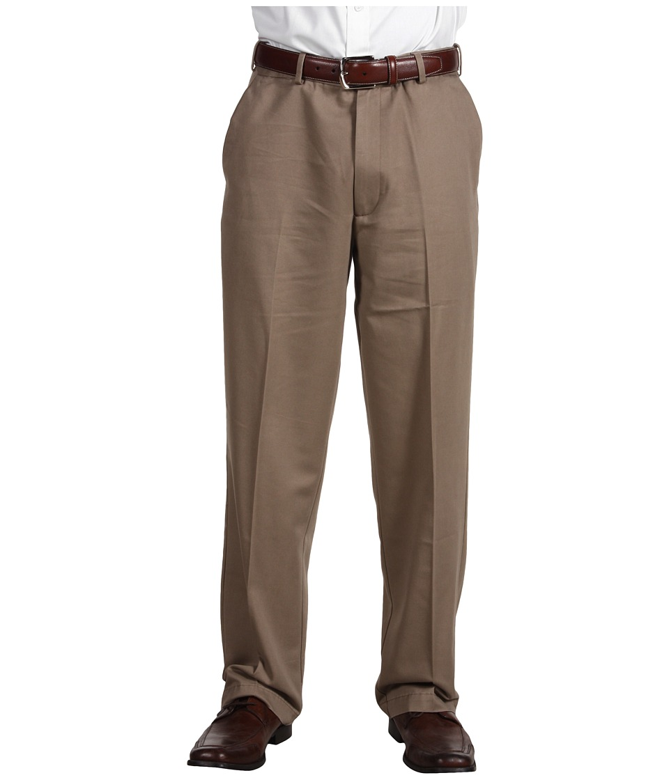 Dockers Men's - Comfort Waist Khaki D3 Classic Fit Flat Front (Malt) Men's Casual Pants