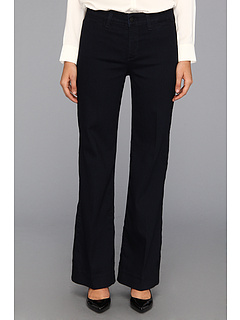SALE! $61.99 - Save $48 on NYDJ Greta Trouser in Dark Enzyme Wash (Dark Enzyme Wash) Apparel - 43.65% OFF $110.00