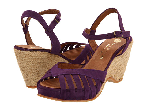 Eric Michael - Kamielle (Purple) Women's Wedge Shoes