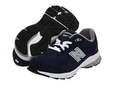 New Balance Kids - KJ990G (Big Kid) (Navy) Kids Shoes
