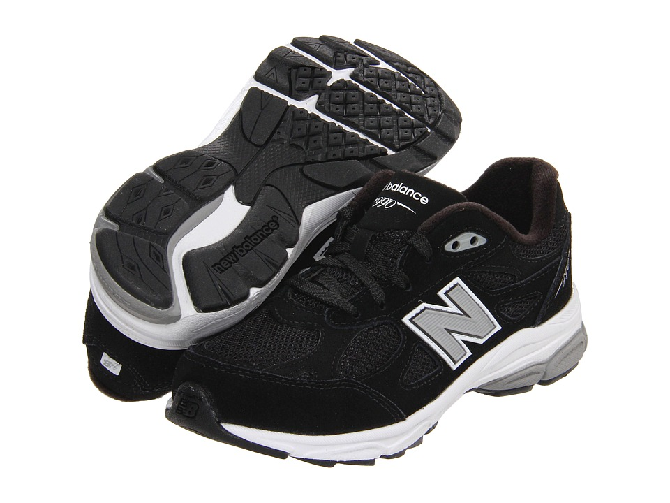 new balance kj990p kid black shoes