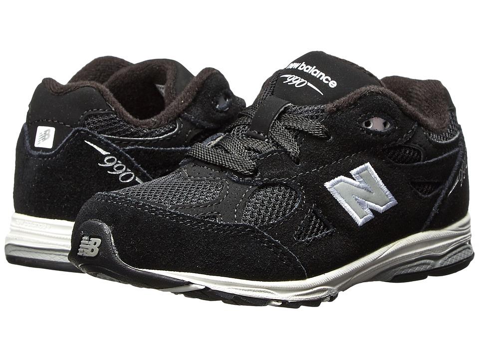 New Balance Kids - KJ990I (Infant/Toddler) (Black) Kids Shoes