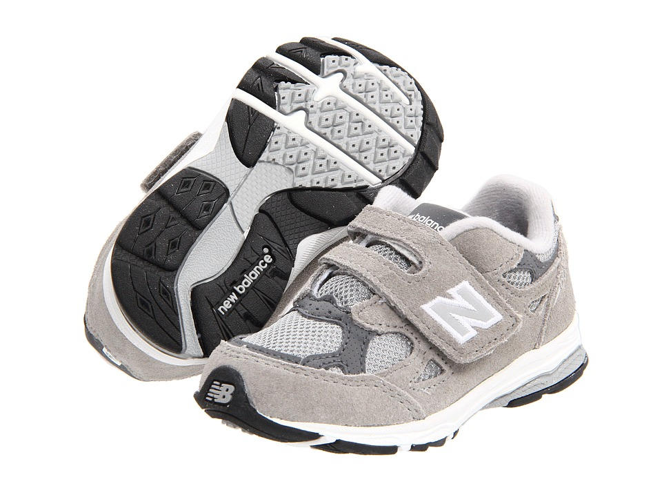 New Balance Kids - KV990I (Infant/Toddler) (Grey) Kids Shoes