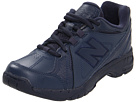 New Balance Kids KX624Y (Little Kid/Big Kid) (Navy)