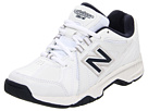 New Balance Kids KX624Y (Little Kid/Big Kid) (White/Navy)