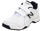 New Balance Kids KV624Y (Little Kid/Big Kid) (White/Navy)