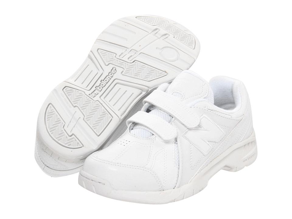 New Balance Kids - KV624Y (Little Kid/Big Kid) (White) Kids Shoes