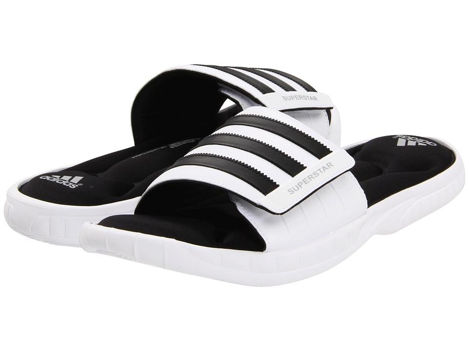 ea0d11bcde5 ... UPC 886398578167 product image for adidas Superstar 3G Slide  (White Black Metallic Silver ...
