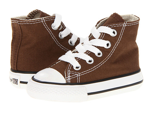 Converse Kids - Chuck Taylor All Star Core Hi (Infant/Toddler) (Chocolate) Kids Shoes