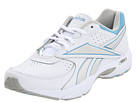 Reebok Walk Around (White/Sheer Blue/Grey) Women's Walking Shoes