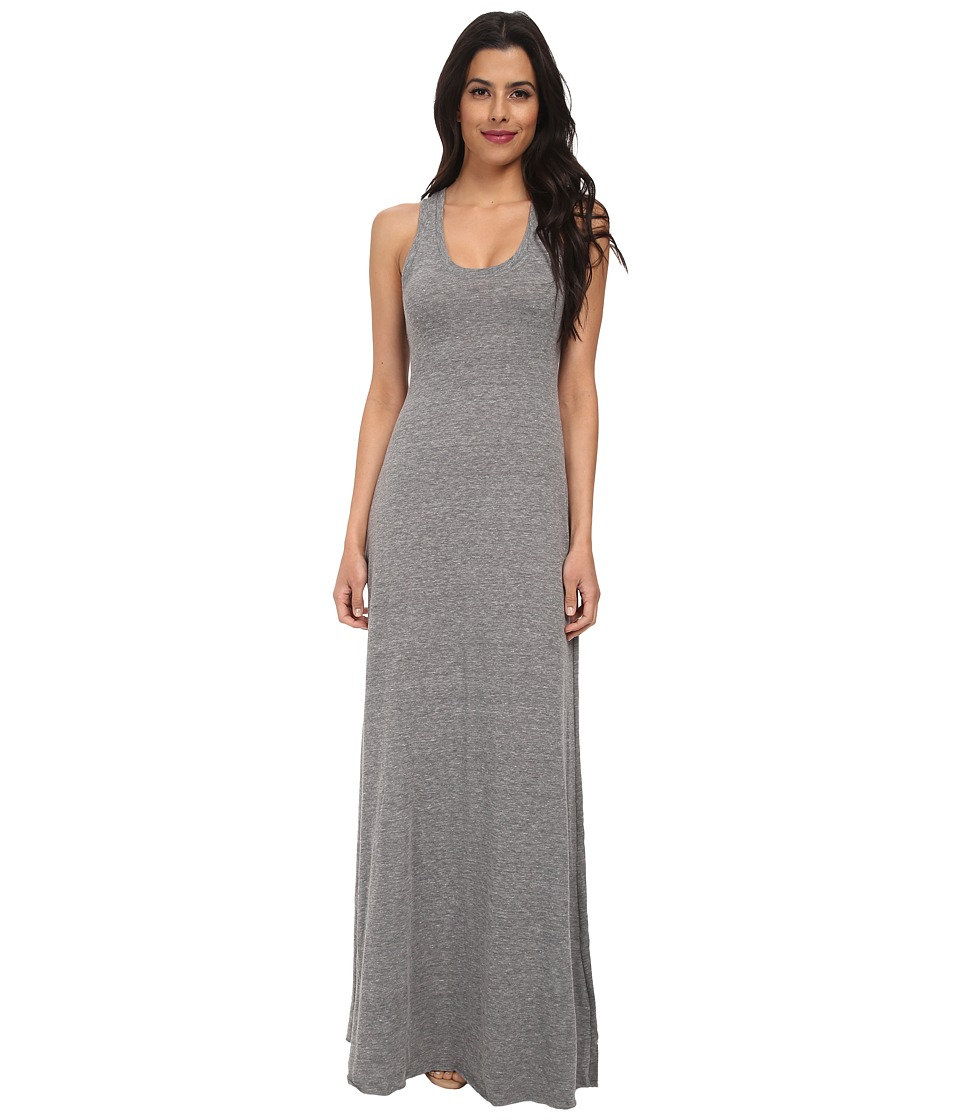 Alternative Racerback Maxi Dress (Eco Grey) Women