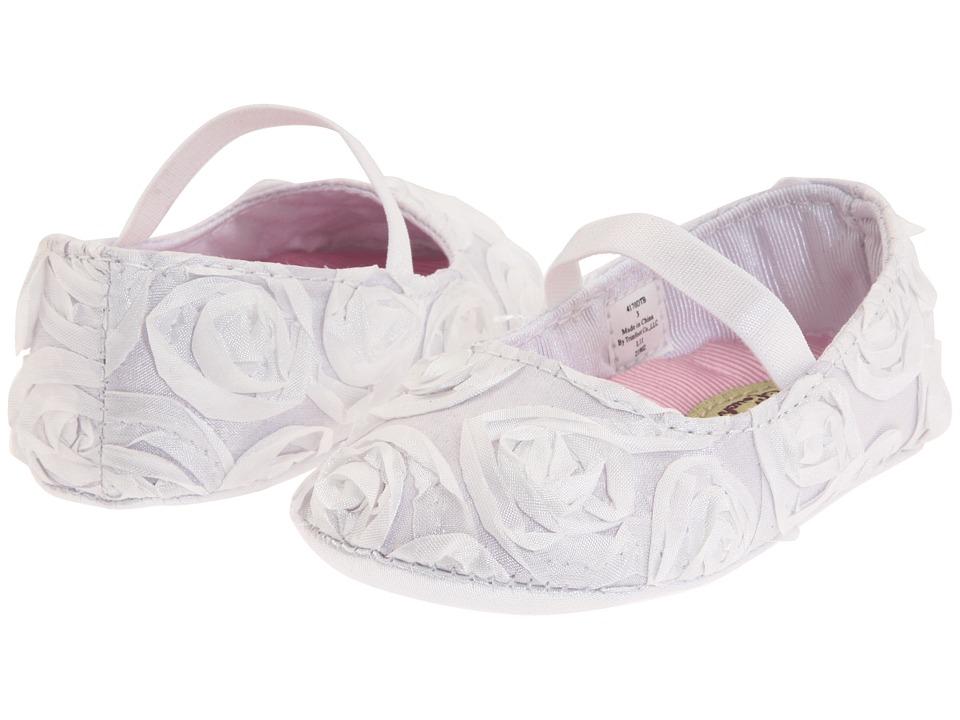 Baby Deer - Rosalie (Infant) (White) Girls Shoes