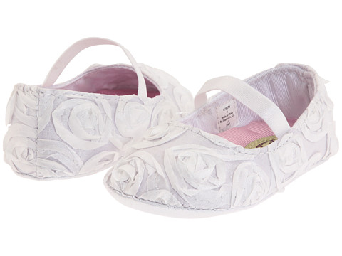 Baby Deer - Rosalie (Infant) (White) Girls Shoes