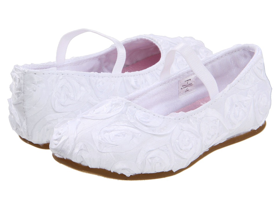 Baby Deer - Rosalie (Infant/Toddler/Little Kid) (White) Girls Shoes