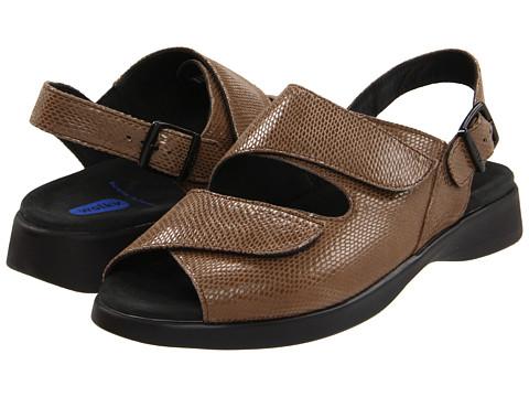 Wolky - Nimes (Beige Snake Print) Women's Sandals