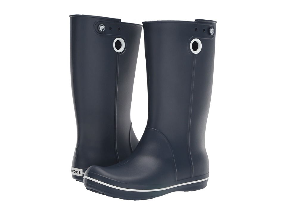 Crocs - Crocband Jaunt (Navy) Women's Rain Boots