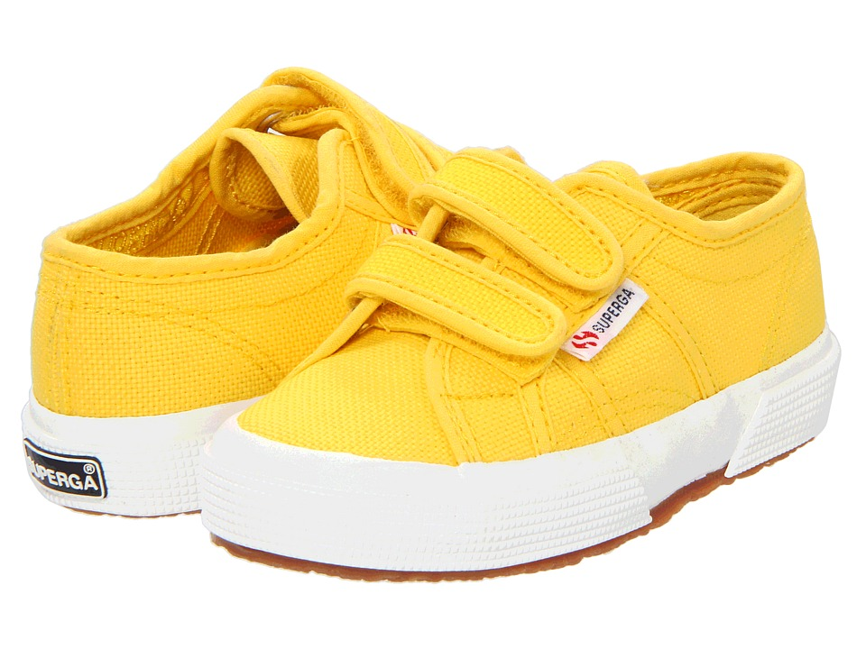Superga Kids - 2750 JVEL Classic (Toddler/Little Kid) (Sunflower) Girls Shoes