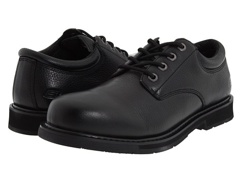 SKECHERS Work - Exalt (Black) Men's Shoes